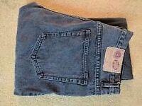 Mens 34x34 Cheap Monday Black Jeans Straight Leg