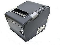 EPSON TM-T88V POS Thermal Receipt Printer M244A USB interface with Power Supply starting at $175.