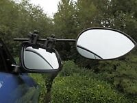 Milenco Towing Mirrors complete with storage bag in excellent condition