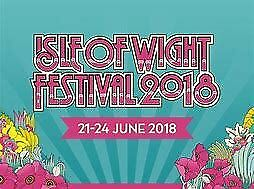 3 Isle Of Wight Festival tickets 21st June to 24th June