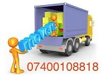 CHEAP URGENT RELIABLE LOCAL MAN & LUTON VAN HIRE HOUSE OFFICE BIKE REMOVALS SERVICE WASTE COLLECTION