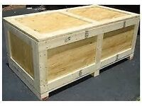 Wooden Shipping Crate wanted- heavy duty 1.6m x 0.6m x 0.6m approx. New/used...WHY?