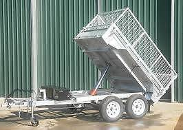 8x5 Galvanized Hydrulic  tipper trailer new tandem with brakes Penrose Wollongong Area Preview