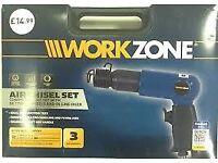 Workzone Air Chisel Set