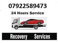 £30 CAR RECOVERY 07922589473 24/7 breakdown car recovery vehicle transport , unvanted car collection