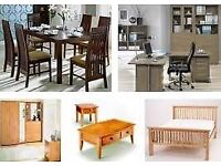 Flatpack assembly furniture & painting