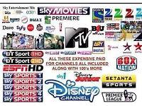 CABLE VM BOX SKYBOX MAG BOX HD 250/254 / OPENBOX 1 YR LINES