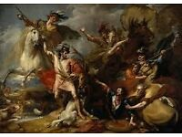 Dalmore King Alexander III Promotional Poster/canvas