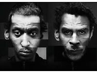 1 Massive Attack ticket for the concert in Bristol on 3rd September