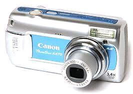 Canon Powershot a470 Camera