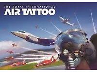 RAF FAIRFORD AIR TATTOO TICKETS SATURDAY 14th JULY
