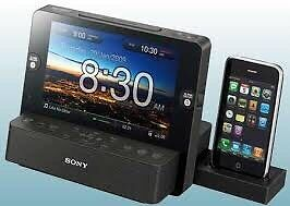 Sony Dream Machine LCD Alarm Clock