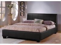 DOUBLE - KING SIZE BEDS - DELIVERED - BRAND NEW - MEMORY FOAM MATTRESS - LEATHER BEDS