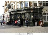 Kitchen Assistant/ Chef for busy EC1 Pub.