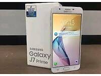 Samsung galaxy J7 prime Brand new 32GB with warranty and accessories unlocked