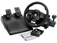 PS3/PC Driving Force GT - Logitech steering wheel 900 degrees
