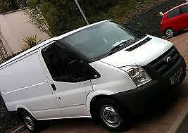 Ford transit 2.2 fwd 5 speed 07 plate breaking van for parts