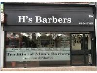 Weekend barber required
