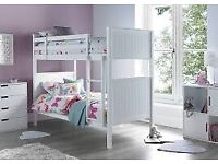 Best Selling Brand !! Single Wooden Bunk Bed Frame And Different Mattress & Colours In Stock