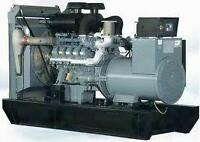 Réparation moteur diesel et génératrice.