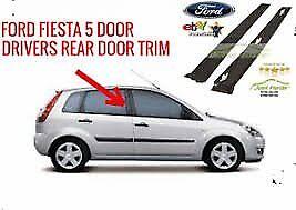 MK6 FIESTA OUTER DOOR PLASTIC TRIM 5 DOOR 2001 - 2008