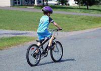 I would like to have a free bike (7 year-old son)