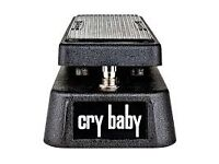 Dunlop Cry Baby Wah Pedal with Boss Power Adaptor