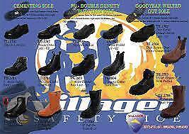 Safety Shoes SIZE 8 to 13 CSA Steel Toe Plate Stylish Dakota