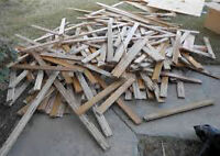 80 fence boards, 1x6x6