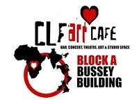 Looking for Bar Supervisors and part time Bar Staff at the CLF Art Cafe/ The Bussey Building