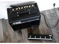 VOX Valvetronix VT20+ with VSF5 foot controller (Like New) - Boxed with Manual - £150 ONO
