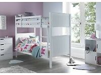 💖🔴AMAZING OFFER🔵💖KIDS BUNK BED-Single Wooden Bunk Bed Frame in White and Oak Color Options