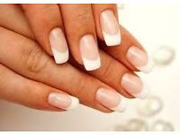 Gel nails (French manicure gels)