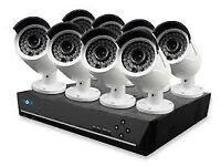 cctv security kit idvision system hq hd camera