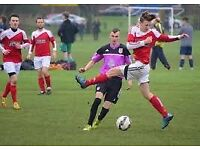 SUNDAY LEAGUE MEN FOOTBALL TEAM LOOKING FOR PLAYERS - LEFT MIDFIELDER OR WINGER