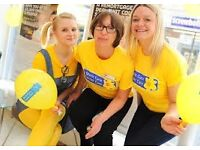 £9.75 -£13p/h - Helping Amazing People - Street Fundraising for Marie Curie, Immediate Start(CHL)