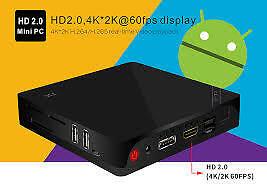 ★2016★ RK3368 Android TV Box 8 Coeurs 4K 16Go Cortex A53 64 bits