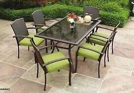 7-PC Wicker Look Dining Table Set