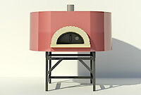 COMMERCIAL WOOD AND GAS FIRED PIZZA OVENS