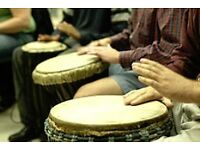 African Djembe Drumming class for all in Eastbourne, Old Town at Eden Blue