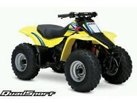 yellow suzuki quad stole