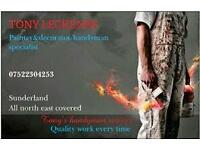 Painter and Decorator. Handyman. Fencing. North East sunderland. 38 years experiance