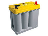 Optima Yellow Top Battery YTR 2.7 J (Japanese Terminals) YTR2.7J (Reversed)