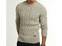 3xmens superdry jumpers