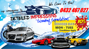 Mobile Car Wash and Detailing Penrith Penrith Area Preview