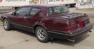 1987 Mercury Cougar Coupe (2 door) Project Car