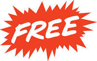 ABSOLUTELY FREE PICK UP SCRAP METAL ELECTRONICS