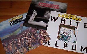 NATIONAL LAMPOON vinyl record album COMEDY lemmings WHITE etc