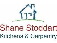 Kitchens, bathrooms, flooring, work tops and Garden maintenance,