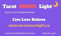Visit Tarot MOON Lights website-Chance to win Free Reading